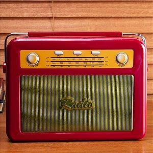 Caixa Organizadora Rádio Vermelha - Etna