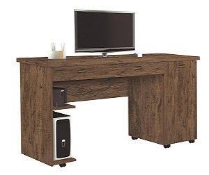 Escrivaninha Ariel Amêndoa Wood - Móveis Primus