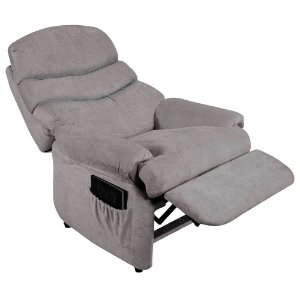 Poltrona do Papai Germany Cinza - American Comfort