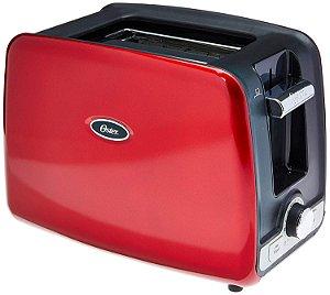 Torradeira Square Retro Toaster TSSTTRWA2R Vermelha - Oster 220v
