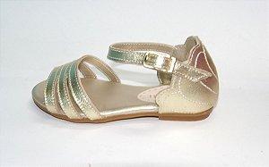 Sandalia Pampili Aurora Dourado Nº20