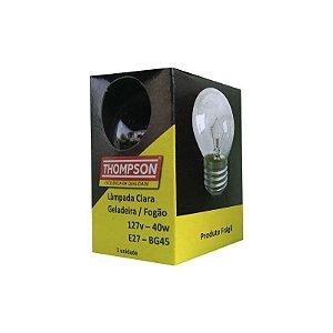 LAMPADA CLARA GELADEIRA/FOGAO THOMPSON 40W 127V