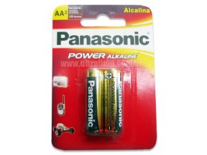 PILHA PANASONIC ALC POWER AA C/2