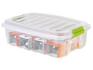 CAIXA GRAN BOX BAIXA PLASUTIL 13,7L 457X326X138MM