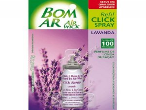 BOM AR CLICK SPRAY REFIL LAVANDA 12ML