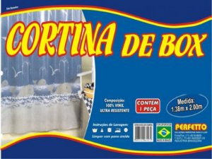CORTINA DE BOX CRISTAL 1,38X2,00M PERFETTO