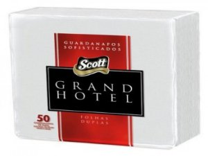 GUARDANAPO SCOTT GRAND HOTEL 33X33CM 50FLS