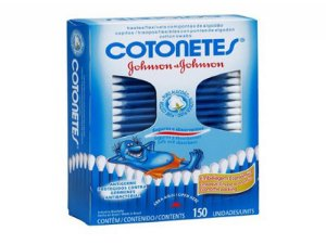 HASTES COTONETE JOHNSON 150UN CX