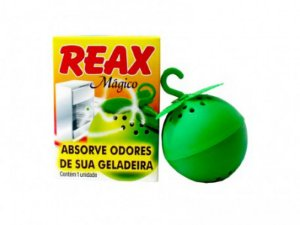 REAX MAGICO ELIMINA ODORES DE GELADEIRA 14G