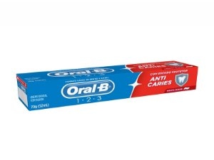 CREME DENTAL ORAL B 123 70GR