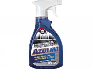 BRILHA INOX SPRAY AZULIM 500ML