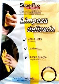 PANO MICROFIBRA LIMPEZA DELICADA SUPER PRO