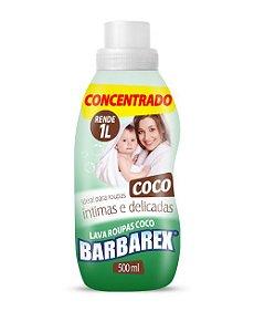 LAVA ROUPAS LIQ BARBAREX COCO CONCENTRADO 500ML