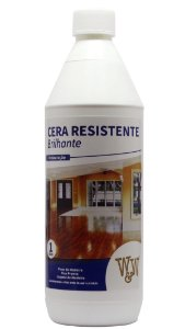 CERA W&W RESISTENTE PISO MADEIRA BRILHANTE 1L