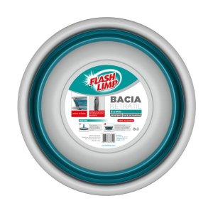 BACIA RETRATIL 8L FLASH LIMP