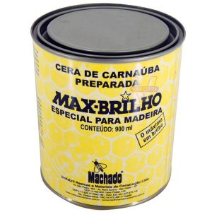 CERA CARNAUBA MAX BRILHO INCOLOR MACHADO 900ML