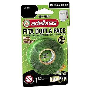 FITA DUPLA FACE TRANSP ADELBRAS 12MMX2M