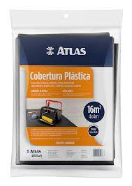 COBERTURA PLASTICA PRETA 4X4 16M2 ATLAS