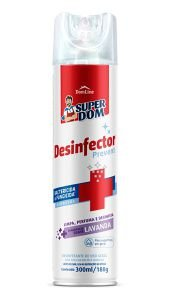 DESINFECTOR PREVENT LAVAND AEROSOL SUPER DOM 300ML