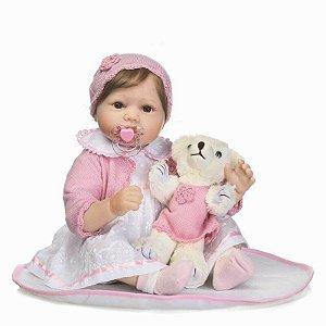 Bebê Reborn Abigail - Corpo de Pano