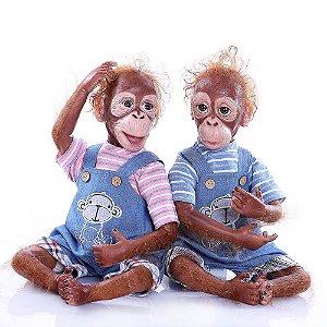 Bebês Reborn Macaco Mile e Miko