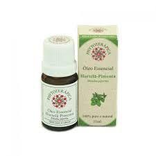 Oleo essencial hortela-pimenta