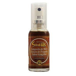 spray de mel e extrato de propolis sabor gengibre smells