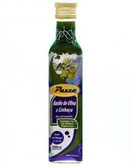 azeite de oliva e linhaça pazze