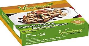 churrasco natural acebolado vegano vegabom