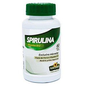 spirulina capsulas sunflower