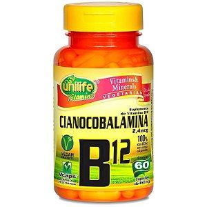 cianocobalamina B12 unilife vitaminas