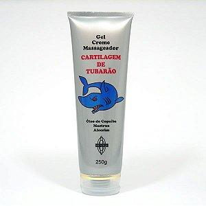 gel creme massageador cartilagem de tubarão