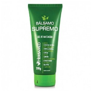 balsamo supremo gel de massagem herbamed
