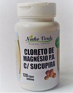 cloreto de magnesio pa com aroma de sucupira Ninho verde 60 120 caps