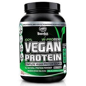 vegan protein unilife sabor morango
