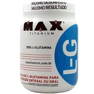 max titanium L-glutamina 600g