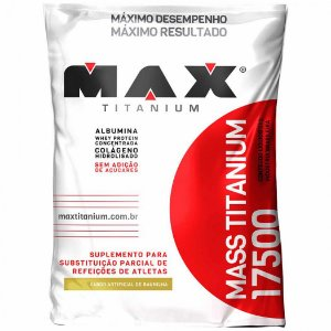 max titanium albumina baunilha 3KG