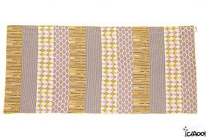 Cinza e Amarelo - Passadeira