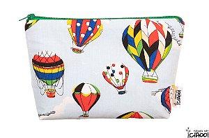 Balão Colorido - Necessaire Grande