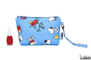 Snoopy Azul - Clutch