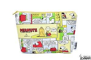 Snoopy Amarelo - Nécessaire Grande - Opção 2
