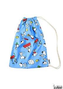 Snoopy Azul - Organizador de Bagagem