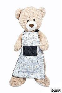Snoopy Preto e Branco - Avental infantil - Opção 1