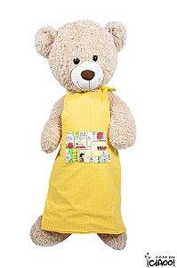 Snoopy Amarelo - Avental Infantil - Opção 2