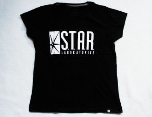 Camiseta Feminina The Flash - Star Labs