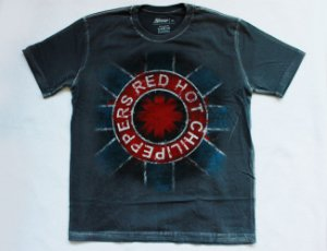 Camiseta Red Hot Chili Peppers logo Edição especial