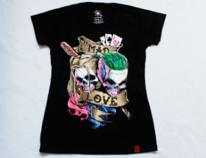 Camiseta Feminina BB - Mad Love