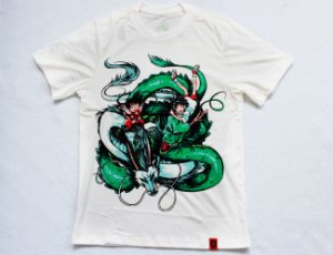 Camiseta Infantil - Dragon Brothers