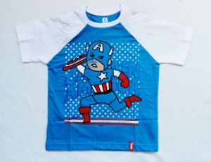 Camiseta Infantil - Capitão America