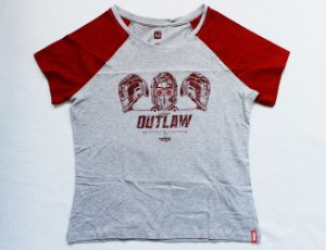 Camiseta Feminina - Guardiões da Galáxia - Outlaw